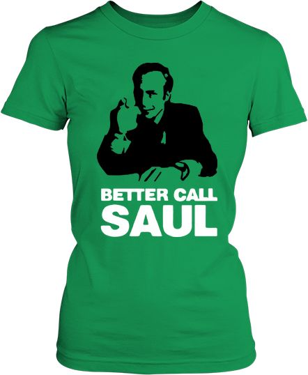 Футболка жіноча. Better call Saul