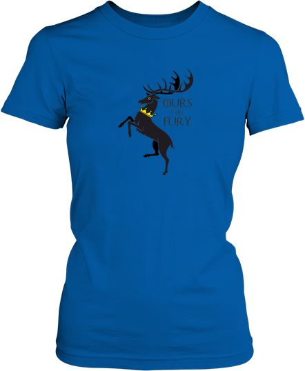 Футболка жіноча. House baratheon.