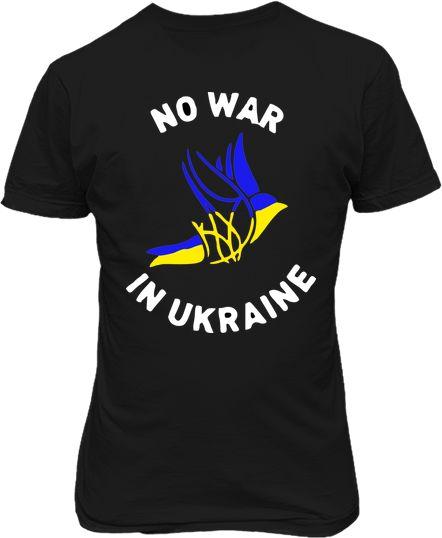 Футболка чоловіча. Голуб миру. No war in Ukraine ed4d75f7303fd